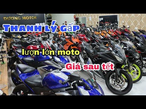 sôi từng chiếc môtô trong cửa hàng anh dương không bỏ xót chiếc moto nào | Mỹ Motor