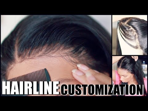How to make a full lace wig look natural