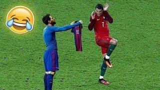 Смешные моменты футбола.