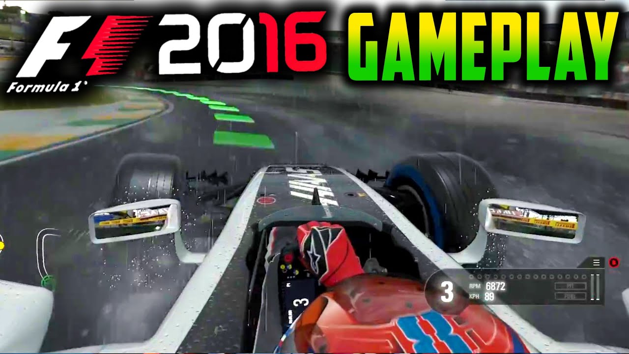 f1 2016 gameplay haas f1 team e3 2016 xbox one analysis youtube. Black Bedroom Furniture Sets. Home Design Ideas