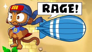 I RAGED to his BROKEN powers and strategy... (Bloons TD Battles)