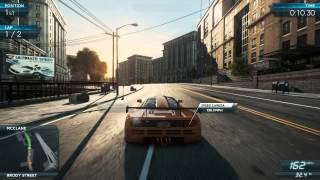 NFS Most Wanted 2012: All Mclaren F1 LM events (Gold Medals) [Ultimate Speed Pack DLC]