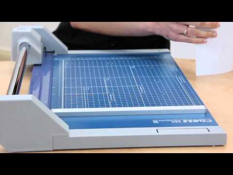 Dahle's New Professional Rolling Trimmer Series