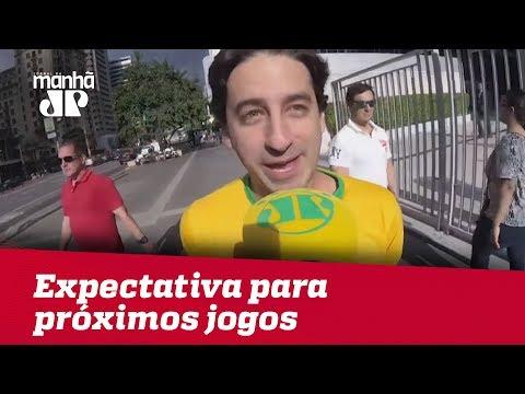 Brasileiros Falam Sobre Expectativa Para Próximos Jogos Após Vitória Contra Costa Rica