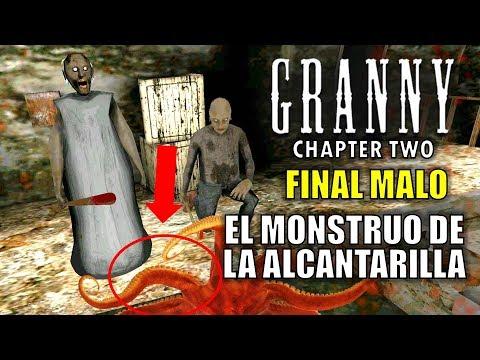 ¡el-monstruo-de-la-alcantarilla!-final-malo,-granny:-capÍtulo-2