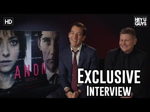 Clive Owen & Andrew Niccol on turning detective in a world without privacy  Anon