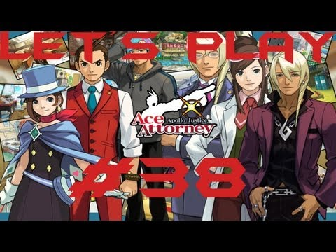 Let's Play Apollo Justice: Ace Attorney - Part 38: Sparks Flying