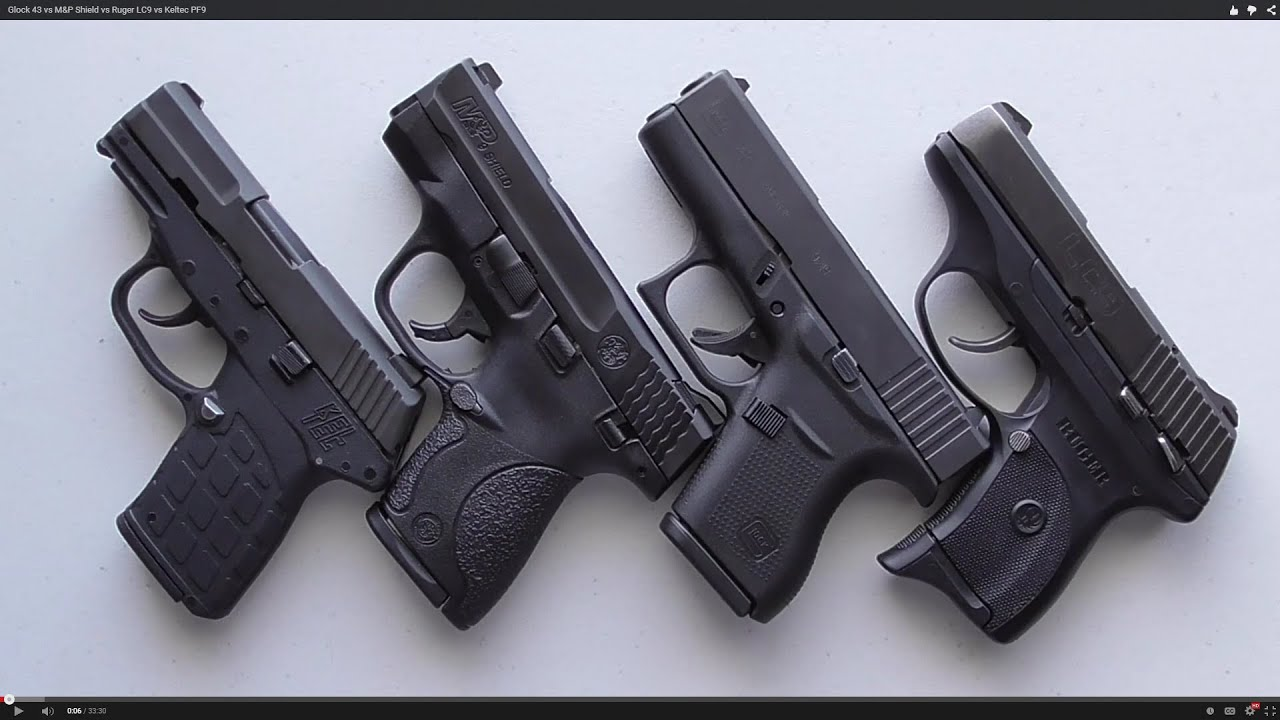 Xds 9mm Vs Ruger...M And P Shield Vs Xds