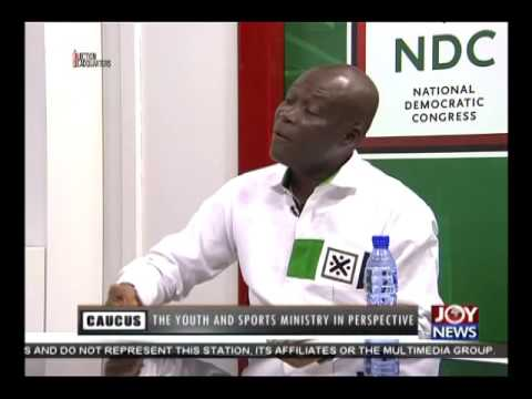 Youth & Sports Ministry in Perspective - Majority Caucus on Joy News (13-7-16)