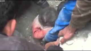Subhanaalloh,Alloh akbar, bayi di syria slamat