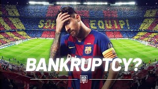 The situation is critical at fc barcelona. club may have to declare itself bankrupt in january 2021! this would be terrible news for a that's been s...