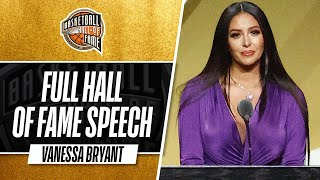 Vanessa Bryant | Hall of Fame Enshrinement Speech