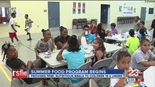 Free summer lunch program for kids to have several locations through out Kern County