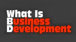 What Is Business Development