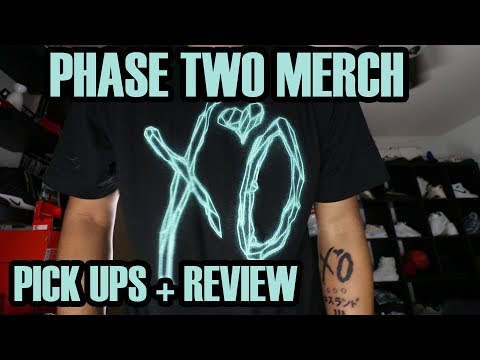 The Weeknd PHASE Two Merch Review + Pick Ups