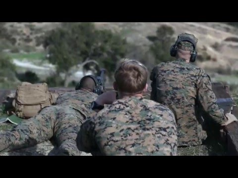 1st LAR Marines conduct weapons drills and familiarization training