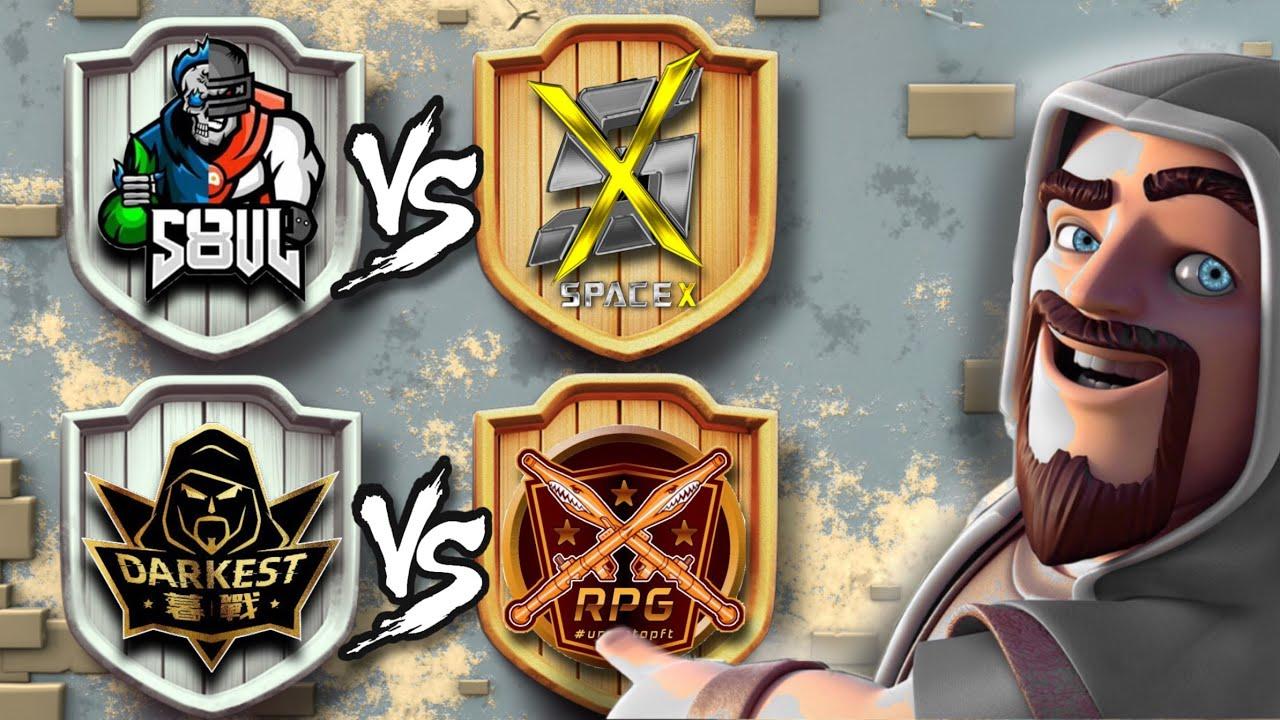 S8ul vs Space X - EVENT HUB | Darkest MuZhan vs Repotted Gaming - LIC | Clash of clan - Coc