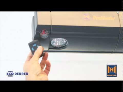 video de programmation telecommande hormann hsm4 doovi. Black Bedroom Furniture Sets. Home Design Ideas