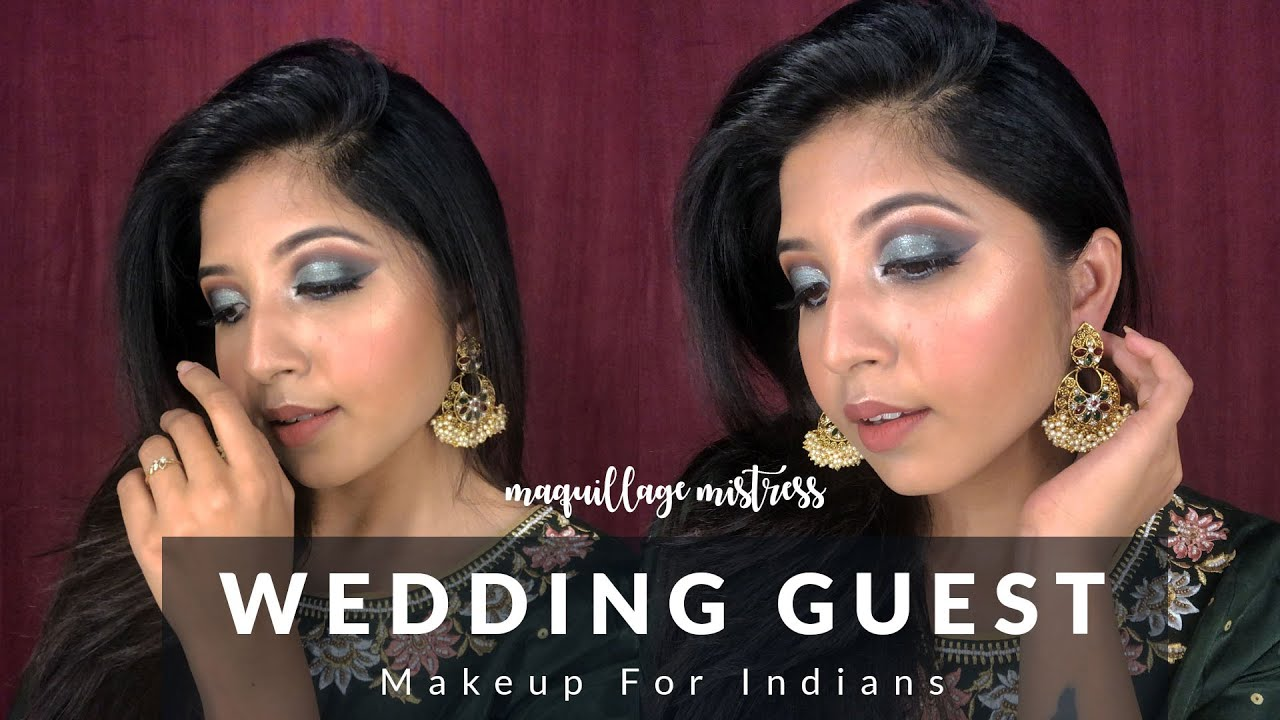 Indian Wedding Guest Makeup Look || Indian traditional makeup look Tutorial 2020