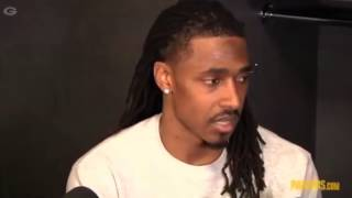Tramon Williams on icing game with interception