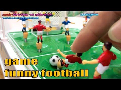 Đồ chơi Đá bóng mới với cách đá banh độc đáo – table football best skills