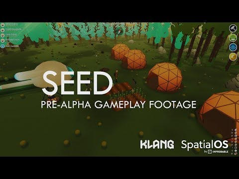 Seed by Klang Games (pre-alpha footage of upcoming SpatialOS mmo)