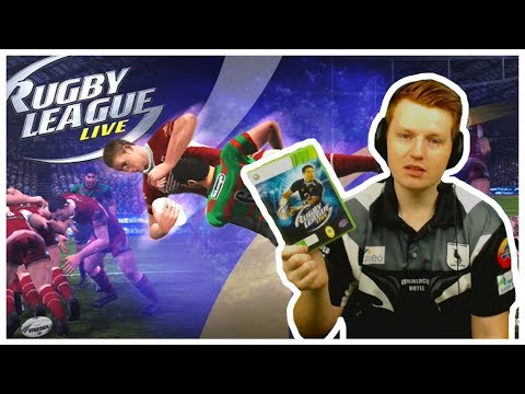 RETRO RUGBY LEAGUE | RUGBY LEAGUE LIVE 1 (XBOX 360)