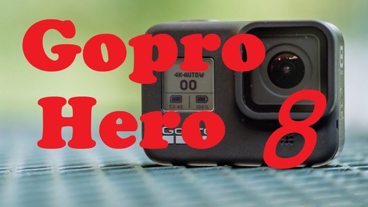 კამერა Gopro Hero 8 Black Unboxing განხილვა