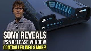 PlayStation 5 - Sony Reveals RELEASE WINDOW, Controller Info & More! (PS5 Release Date - PS 5)