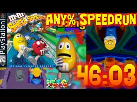 M&M's Shell Shocked Any% Speed Run in 46:03