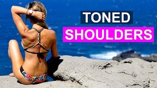 How To Get Toned Shoulders   Rebecca Louise