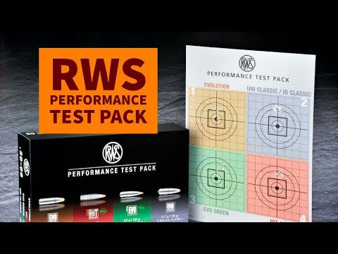 RWS Performance Test Pack - a hunting ammunition combi-package