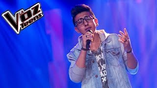 Julián canta 'La flaca' | Audiciones a ciegas | La Voz Teens Colombia 2016