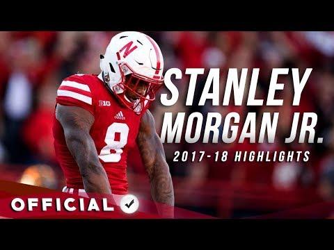 Stanley Morgan Jr.    Official 2017-18 Nebraska Highlights