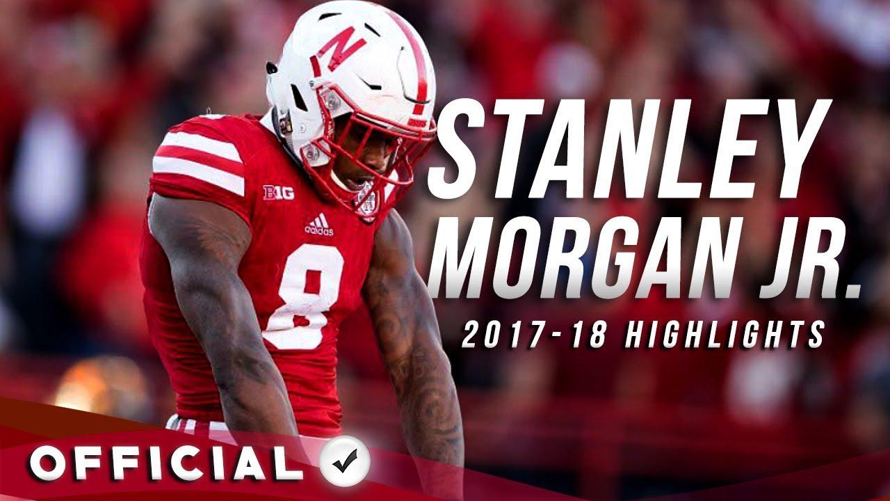Stanley Morgan Jr Official 2017 18 Nebraska Highlights Youtube