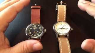 Contrasting Detroit watches and companies Shinola and the Detroit Watch Company