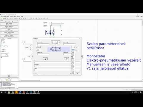 Direkt és indirekt elektropneumatikus vezérlés bemutatása szimulációval    2. lecke