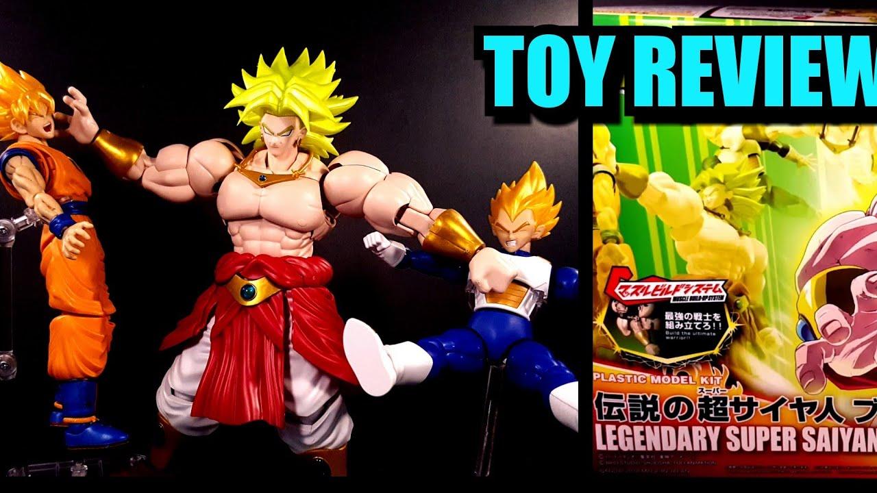 MG Figure-rise Standard Dragon Ball Z DBZ Super Saiyan Broly Model kit Bandai **