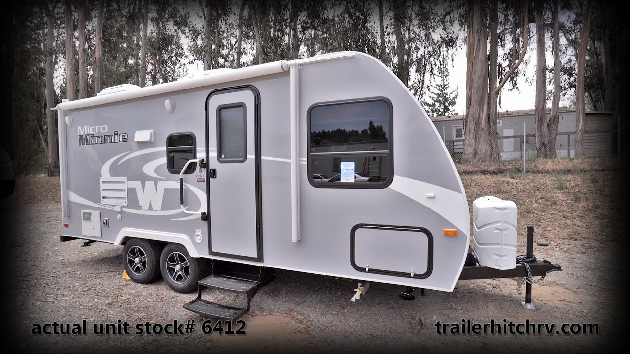 Cool The Winnebago Micro Minnie Is A Class C Travel Trailer With All Really Fun Features! The Micro Minnie Is Fully Loaded For Fun With Key Features Like Dual Axles For Added Stability, Range Top, Microwave, Refrigerator, Air Conditioning, Furnace, Full