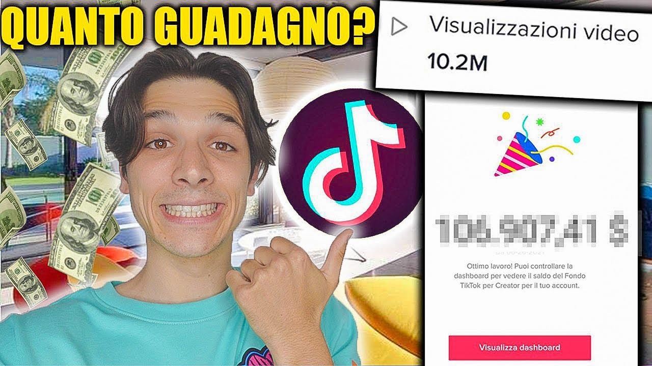 Quanto paga TikTok in Italia per 1 milione di visualizzazioni?