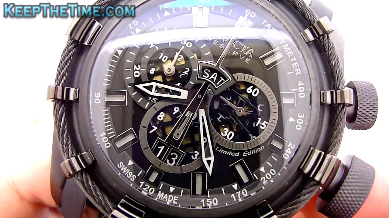 invicta bolt 0195 hd watch review youtube