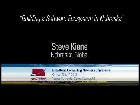 """""""Building a Software Ecosystem in Nebraska"""" - Steven Kiene"""