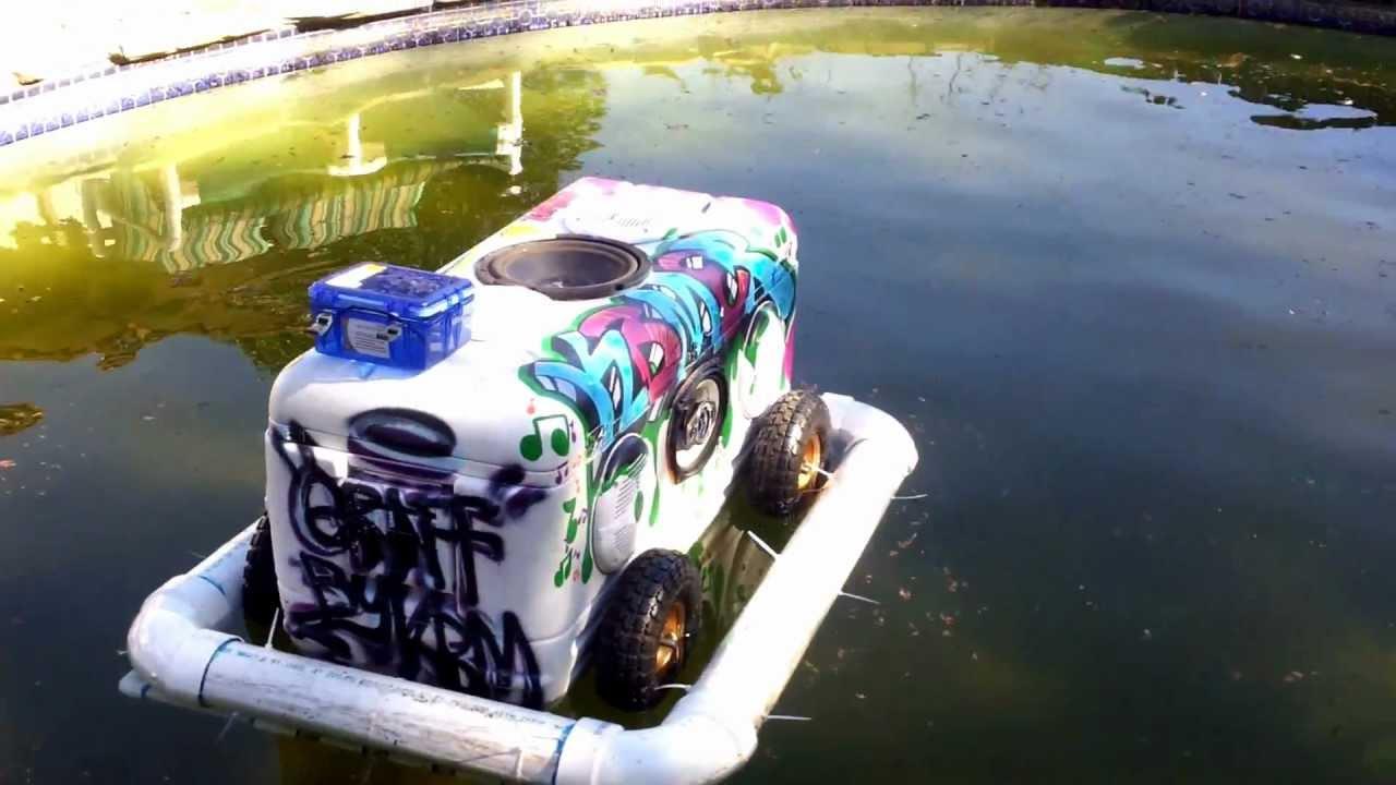Floating Speaker Cooler Beatzcoolers By Jp Youtube