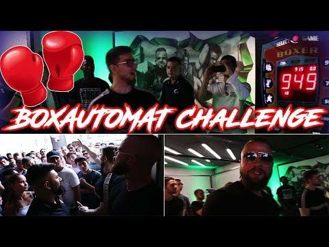 BOXAUTOMAT Challenge mit Kollegah & Mois rasieren! Zec+ Event mit Community