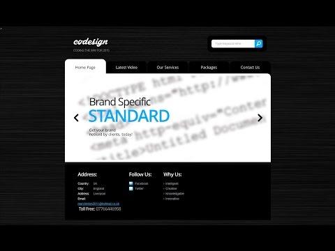 HTML/CSS Website Speed Coding! (#2)