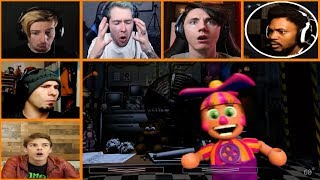 Let's Players Reaction To DeeDee Doing A Sneaky Thing | Fnaf Ultimate Custom Night