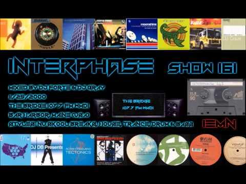 INTERPHASE - Show #161 (11/25/2000) - The Bridge 107.7 FM - Breaks, Drum & Bass, House, Trance