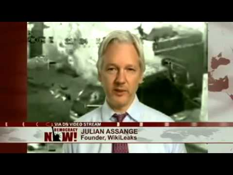 Julian Assange: Stratfor Hacker Jeremy Hammond Guilty Plea Part of Crackdown on Journalism, Activism