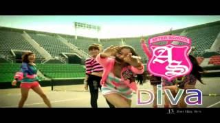 Video [HD] After School - DIVA MV download MP3, 3GP, MP4, WEBM, AVI, FLV Juni 2018