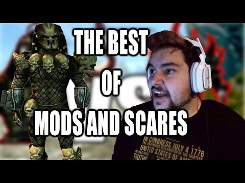 Predator Mod Skyrim Remastered and Outlast 2 | The Best of Mods And Scares